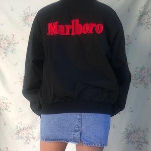 vintage marlboro bomber jacket